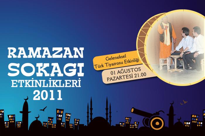 Geleneksel Türk Tiyatrosu Etkinliği