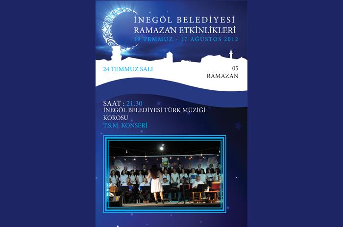 İnegöl Belediyesi Türk Müziği Korosu