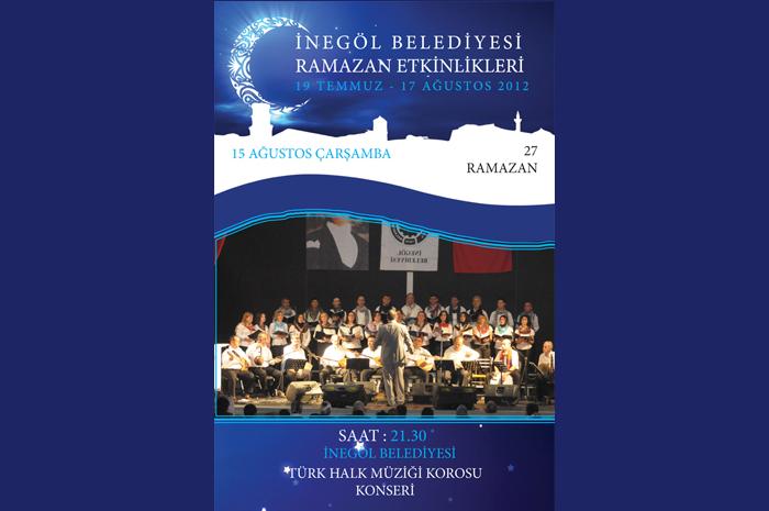 İnegöl Belediyesi Türk Halk Müziği Korosu