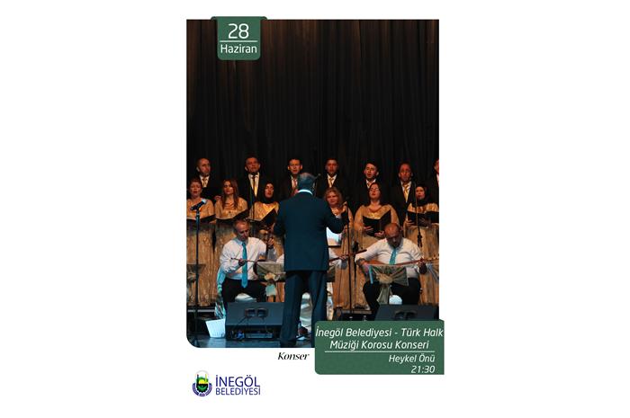 Türk Halk Müziği Kosoru Konseri